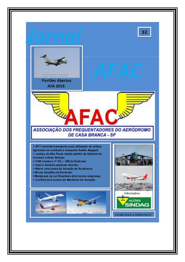 Jornal Digital AFAC - Edição 30 Edição 32-