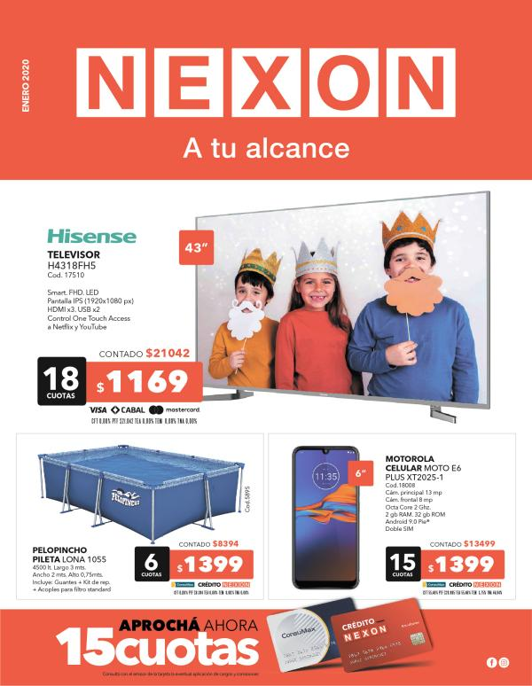 Catálogo Enero 2020 - Nexon NEXON_ENERO2020