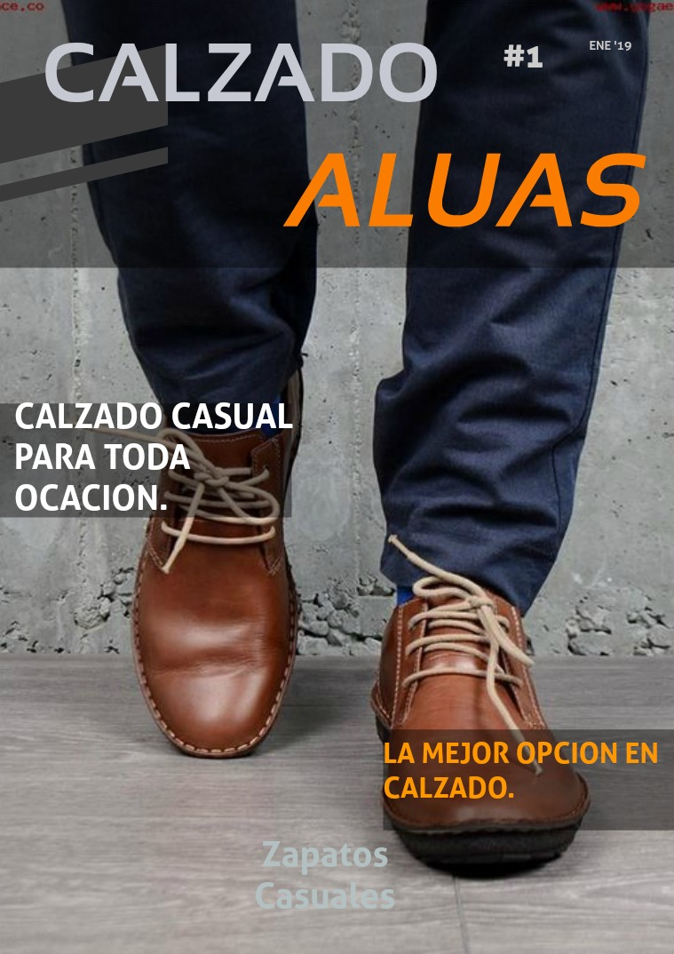 Catalogo Calzado Aluas Volumen 1