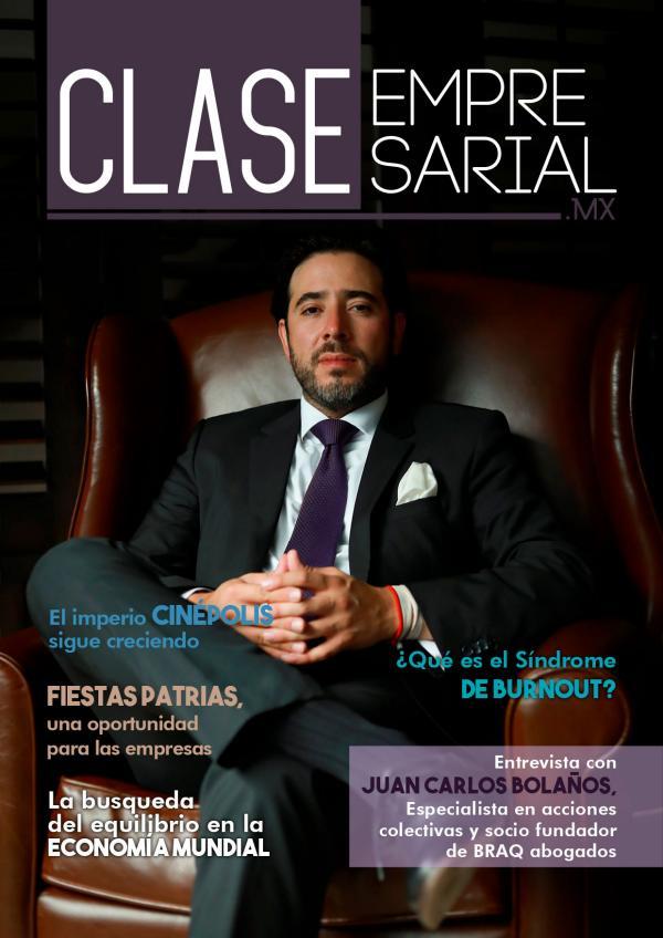 Clase Empresarial.MX Septiembre 2019