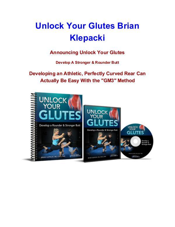 Brian Klepacki Unlock Your Glutes pdf download Unlock Your Glutes Brian Klepacki  review
