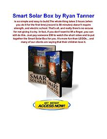 Ryan Tanner Smart Solar Box  Smart Power 4 All
