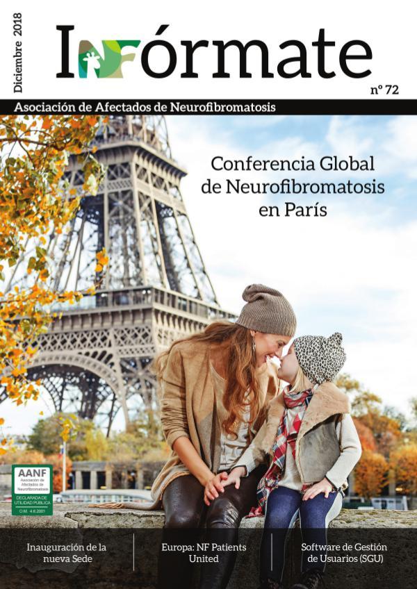Asociación de Afectados de Neurofibromatosis - Revista 72 Asociación de Afectados de Neurofibromatosis - 72