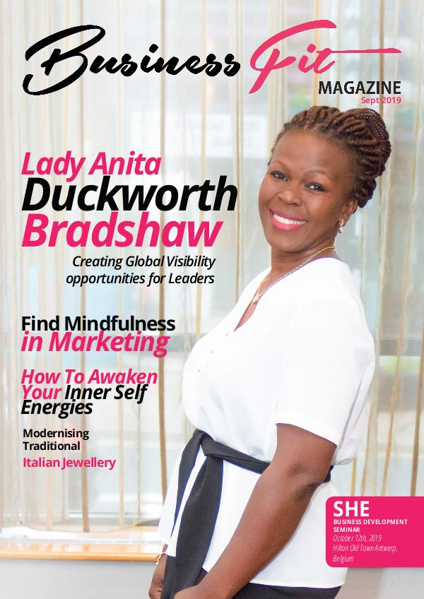 Business Fit Magazine September 2019 Issue 2