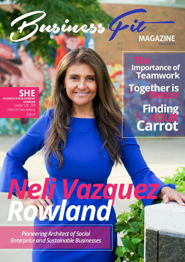 Business Fit Magazine October 2019 Issue 1