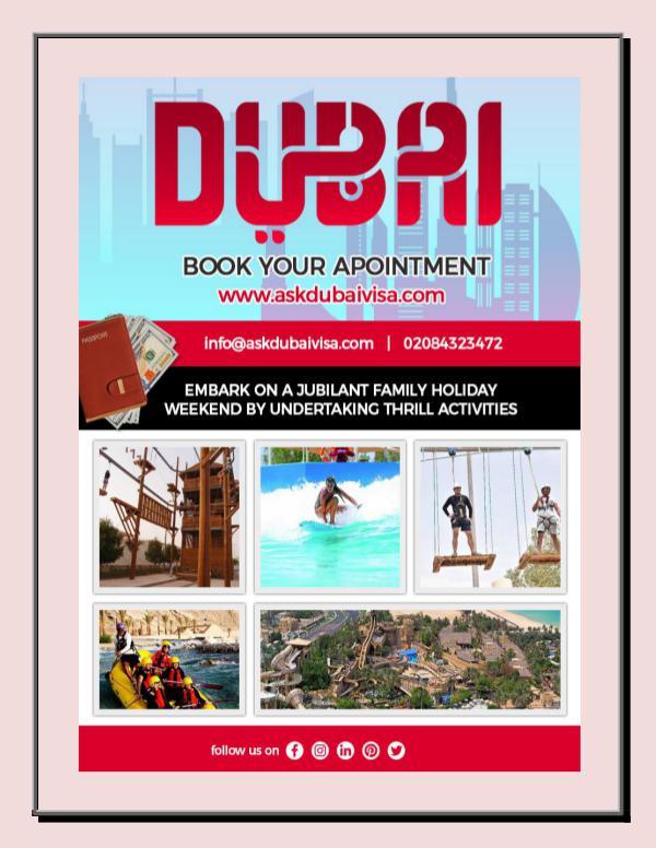 Escape the Boring Life with Dubai Visa