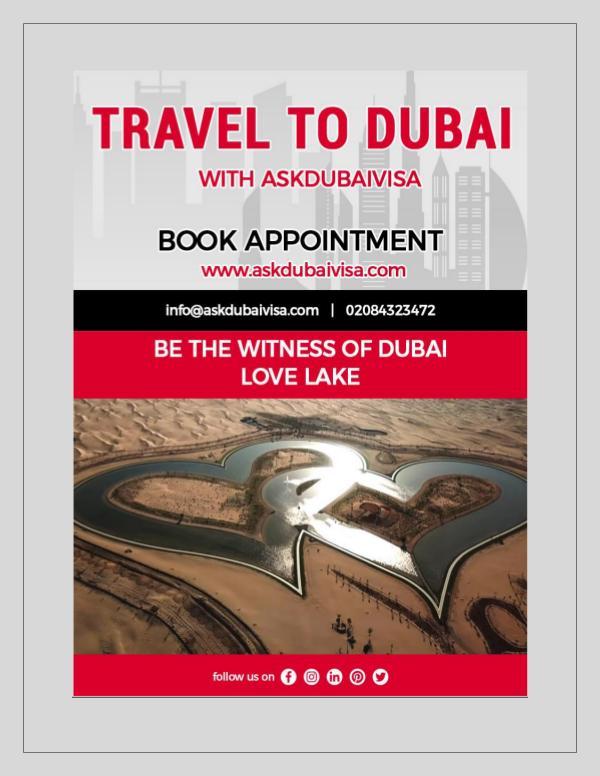 DUBAI LOVE LAKE 2019