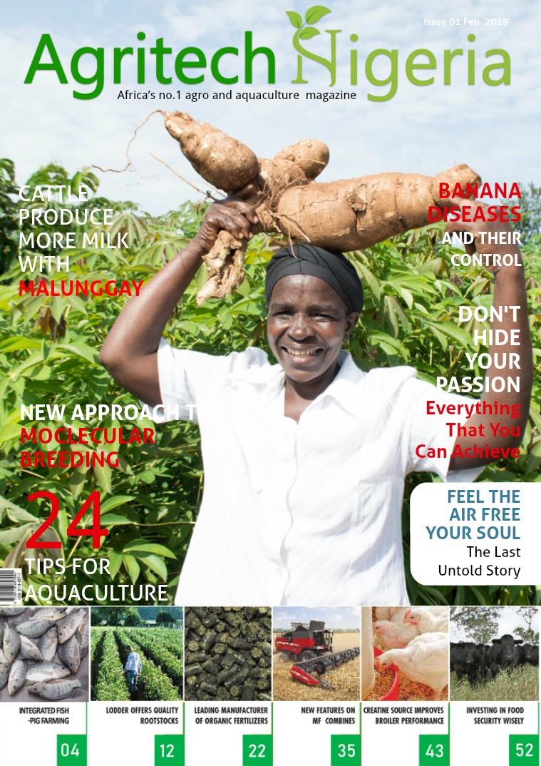 Demo Magazine Design for Nigeria Agro & Aquaculture Demo Magazine Design for Nigeria Agriculture