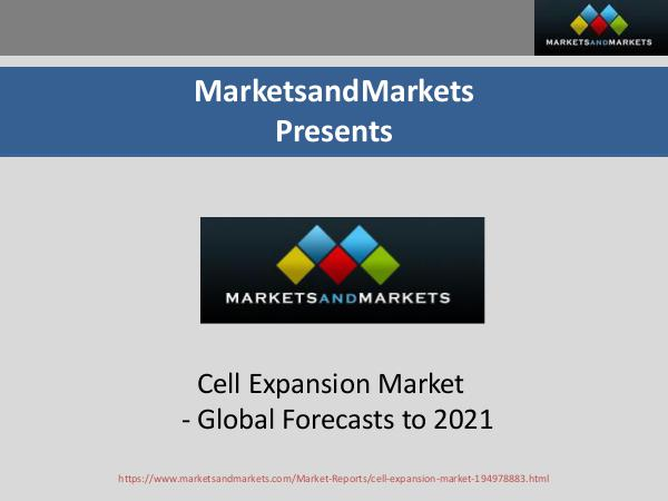 Cell Expansion Market Size, By End User