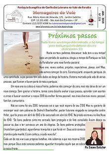 Boletim Igreja Luterana no Vale do Paraíba