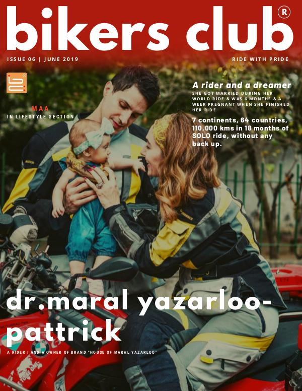 BIKERS CLUB JUNE  2019 ISSUE