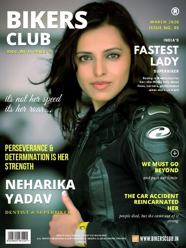 BIKERS CLUB MARCH 2020 ISSUE