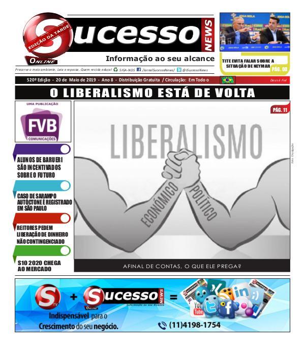 Jornal Sucesso News Jornal Sucesso News - Edição - 520 ONLINE