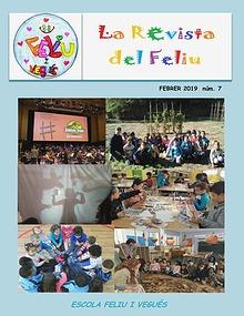 Revista nº7 de l'escola Feliu i Vegués