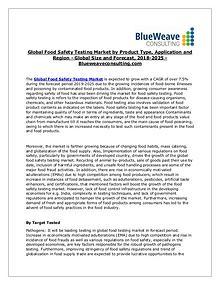 Food Safety Testing 2025