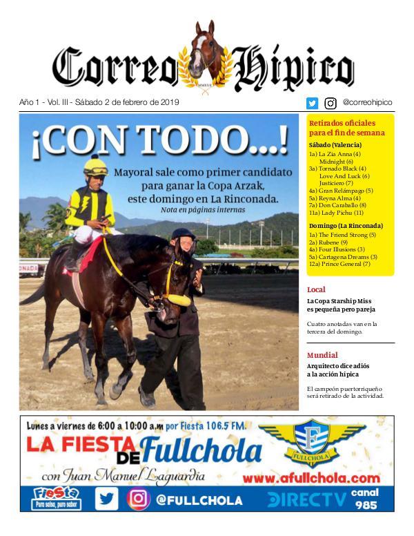 Correo Hípico Nro 3 - 2019 Correo 3 - 020219