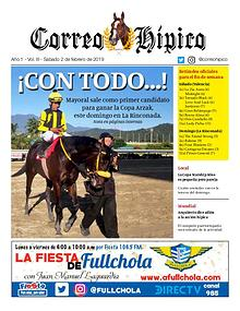 Correo Hípico Nro 3 - 2019