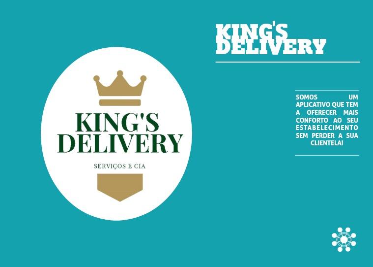 Minha primeira Revista king's delivery