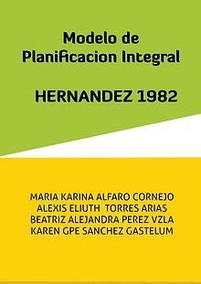 Modelo planificacion integral Molina 1982