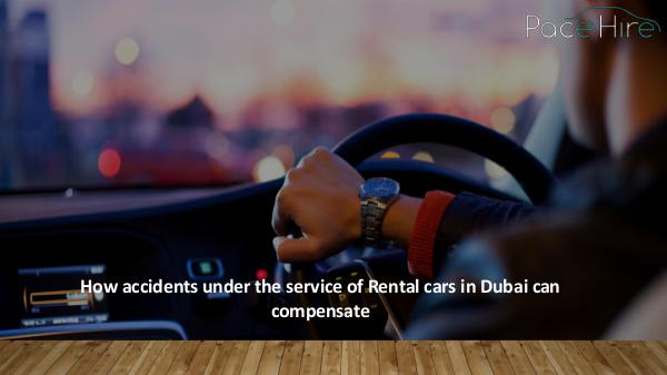How can you protect yourself as a PCO car driver? How accidents under the service of Rental cars in
