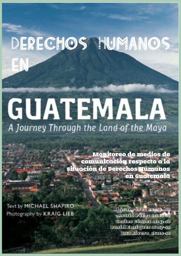 Derechos Humanos en Guatemala 2 2do
