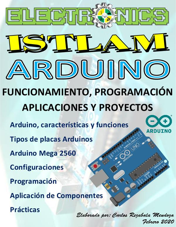Revista Electrónica Arduino ISTLAM 2020 Revista Final 6to Semestre