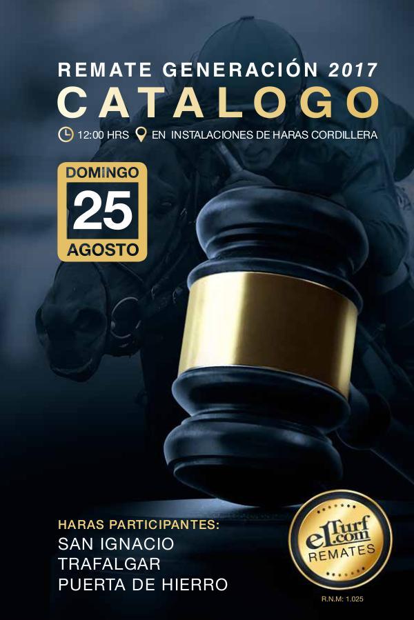 Catálogo Elurf.com | Remate 25 de Agosto Elturf - San Ignacio - Puerta de Hierro - Trafalga
