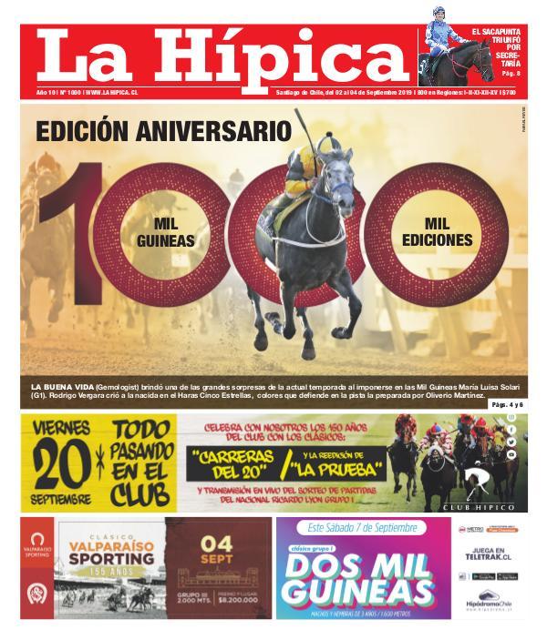Diario La Hípica Edición 1000