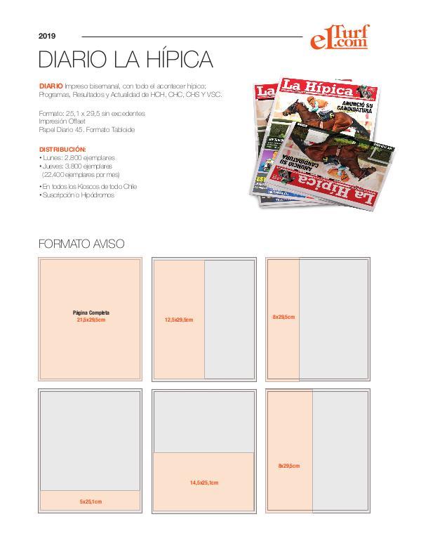 Media Kit 2019 KIT PUBLICIDAD (DIARIO LA HÍPICA)