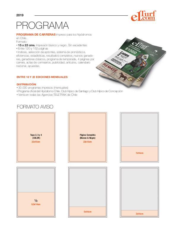 Media Kit 2019 KIT PUBLICIDAD (PROGRAMA)
