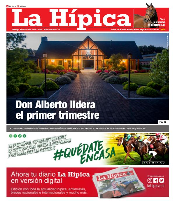 Diario La Hípica Edición 1075