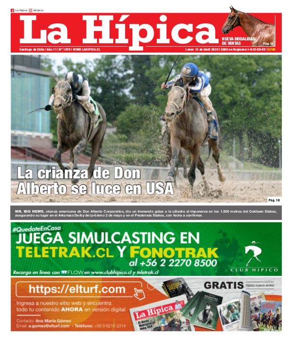 Diario La Hípica Edicón 1078