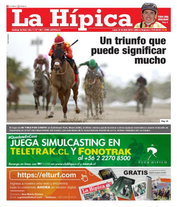 Diario La Hípica Edición 1081