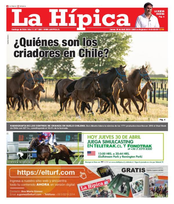 Diario La Hípica Edición 1085