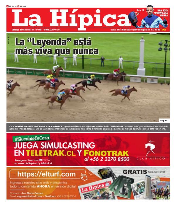 Diario La Hípica Edición 1087