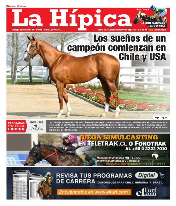 Diario La Hípica Edición 1105