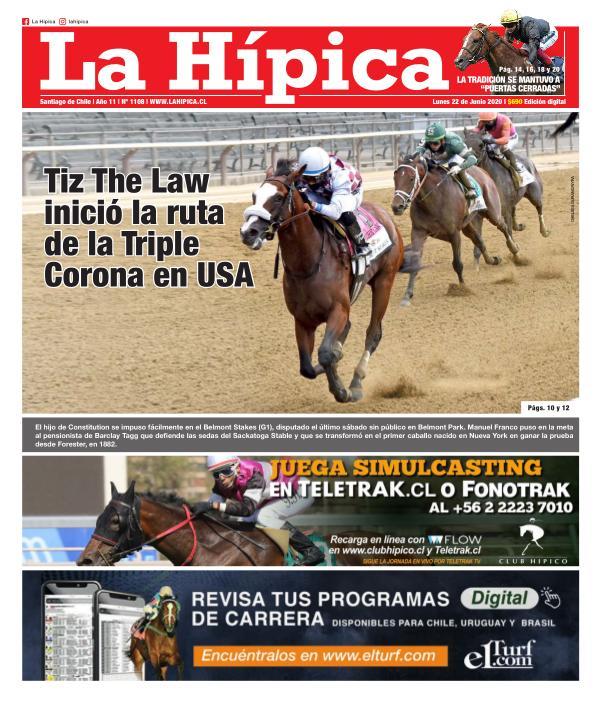 Diario La Hípica Edición 1108