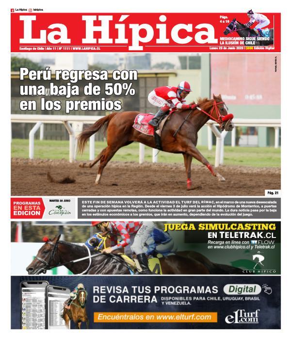 Diario La Hípica Edición 1111