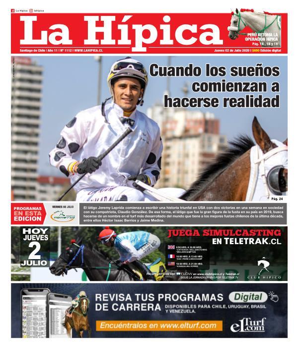 Diario La Hípica Edición 1112