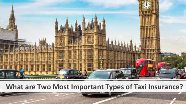 What are Two Most Important Types of Taxi Insuranc