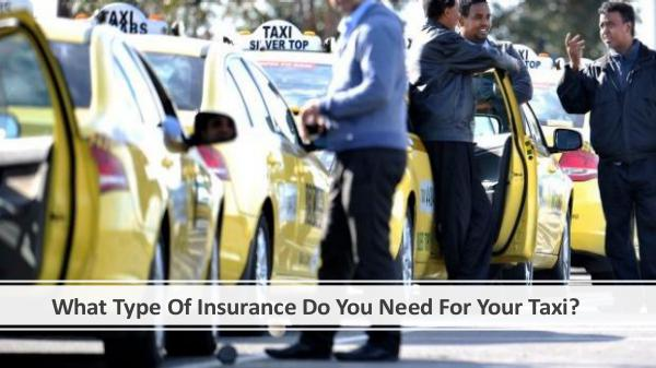 What Type Of Insurance Do You Need For Your Taxi