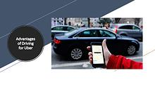 Advantages of Driving for Uber