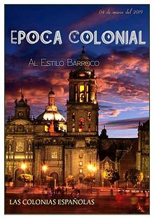 los colonias españolas ( al estilo barroco)