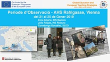 Job-shadowing in AHS Rahlgasse, Wien