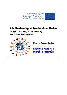 Job shadowing Swedem M José Redó