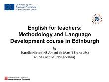 Sharing E+ training courses knowledge