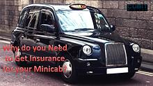 Why do you need to get insurance for your minicab?