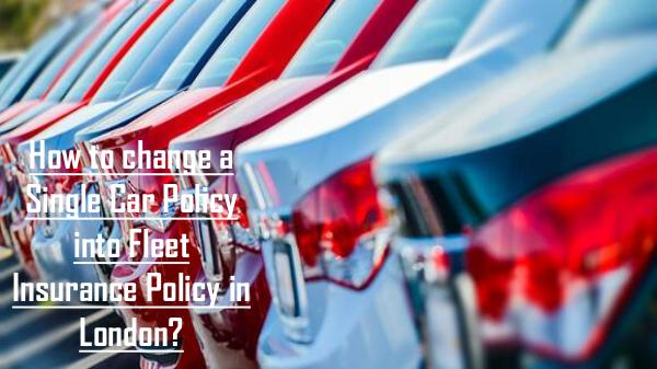 Why do you need to get insurance for your minicab? How to change a Single Car Policy into Fleet Insur