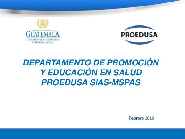 -PROEDUSA- Presentación OPS vf