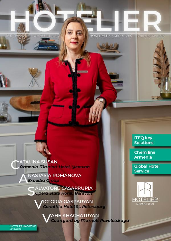 HOTELIER Magazine 2nd issue - English